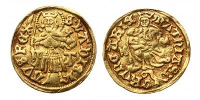 I. Mátyás aranyforint ÉH 540