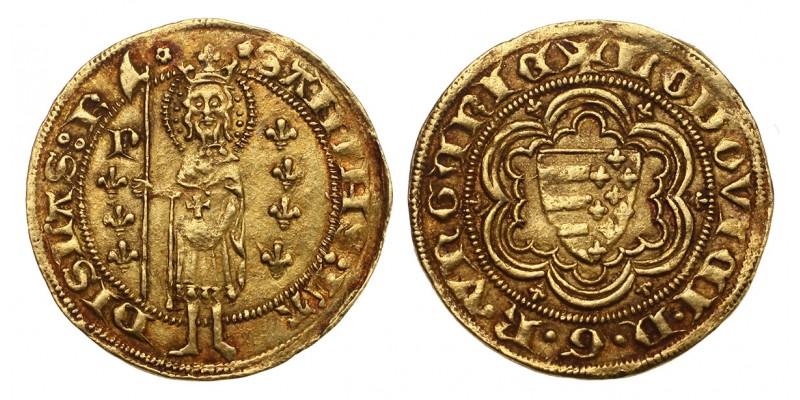 I. Lajos aranyforint ÉH 407