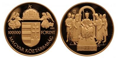 Szent István 100000 forint 2001