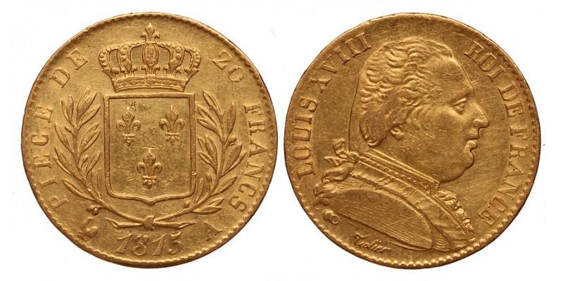Franciaország 20 frank 1815 A