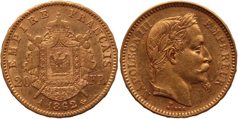 Franciaország 20 frank 1862
