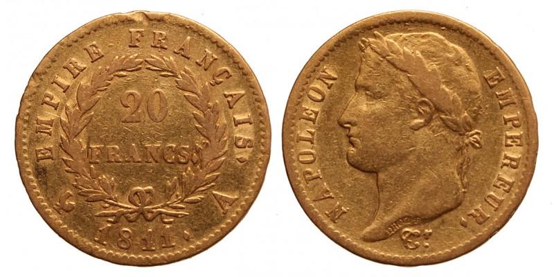 I.Napoleon 20 frank 1811