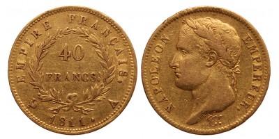 Franciaország 40 frank 1811 A