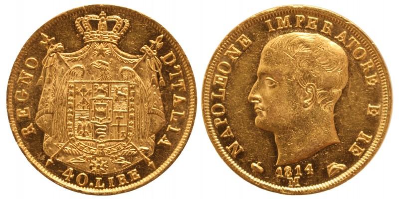 I. Napoleon 40 lira 1814 M