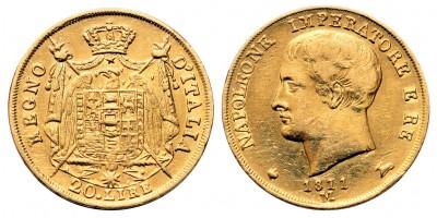 Olaszország 20 Líra 1811 M