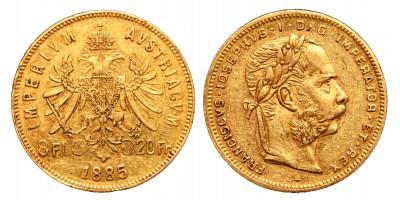 8 Florin 1885