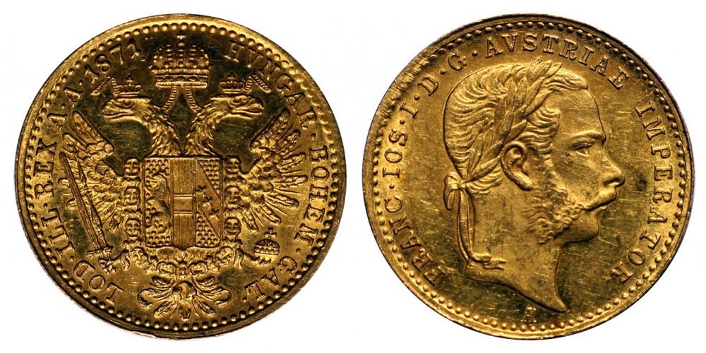 Ferenc  József dukát 1871 A