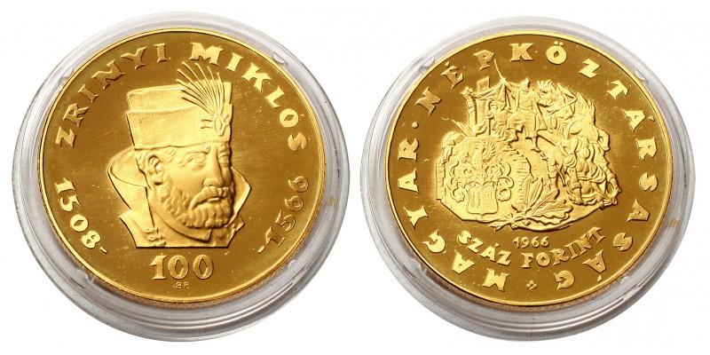 100 Forint Zrínyi 1966