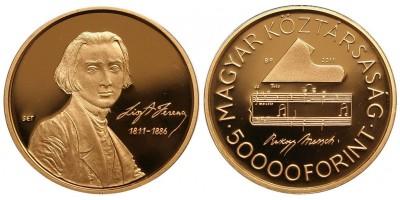 Liszt 50000 forint 2011