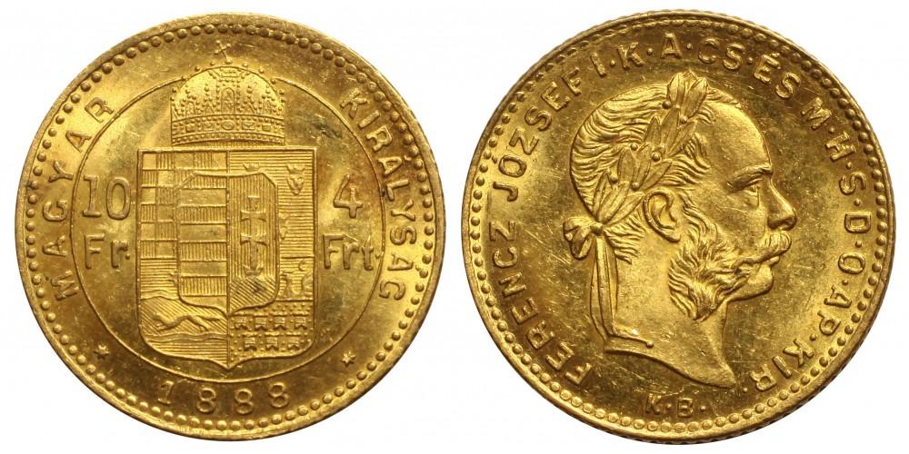 4 Forint 1888 KB