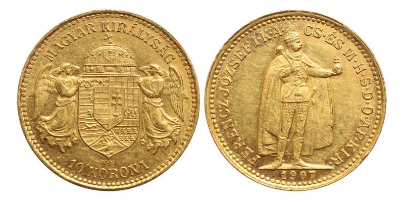 Ferenc József 10 Korona 1907 KB