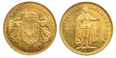 Ferenc József 10 Korona 1912