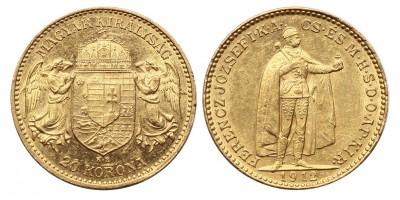 Ferenc József 20 korona 1912 KB.