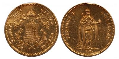 Ferenc József dukát 1869 KB