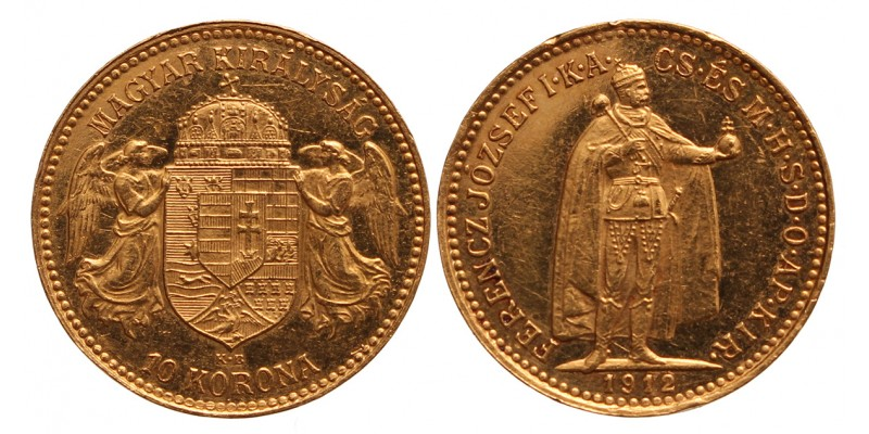 10 korona 1912 KB