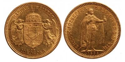 Ferenc József 10 korona 1896 KB