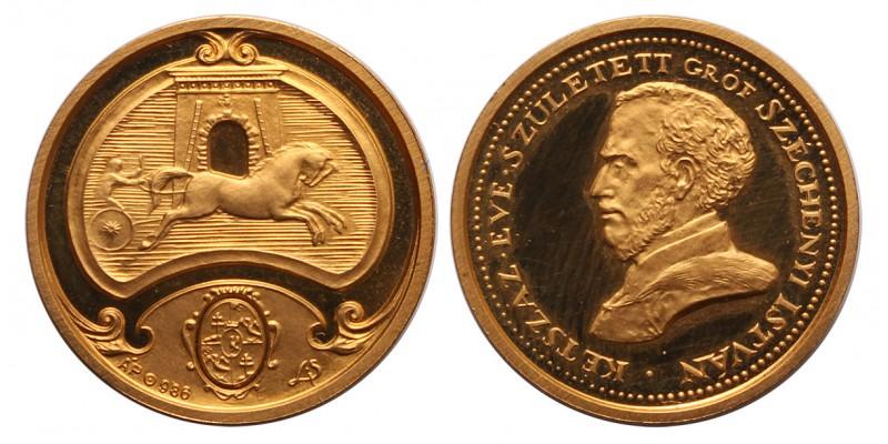 Széchenyi István APV aranyérem