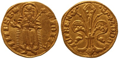 I. Lajos 1342-1353 aranyforint