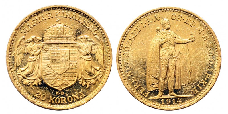 Ferenc József 20 Korona 1914
