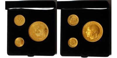 Bartók 50-100-500 forint 1961