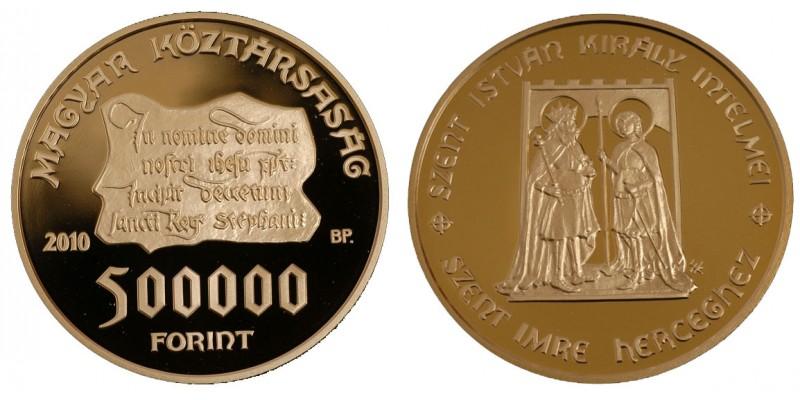500 000 Forint 2010 PP
