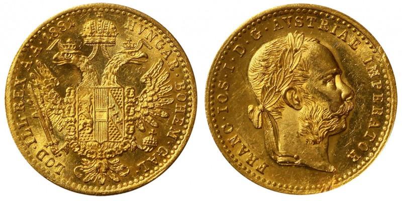 Ferenc  József  dukát 1881