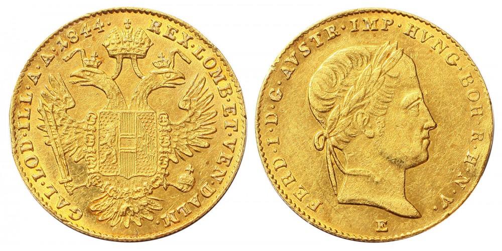 V.Ferdinánd Dukát 1844 E