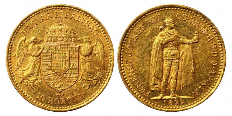 Ferenc József 10 korona 1899
