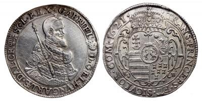 Erdély Bethlen Gábor tallér 1621 NB.