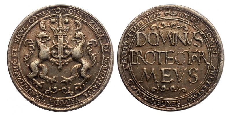 Erdély Székely Mózes ezüst tallér (Kral Becker által készített 1825-ben)