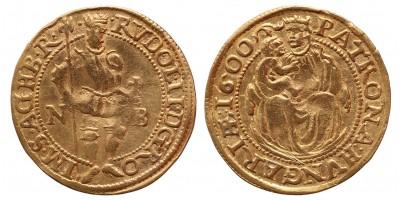 Rudolf dukát 1600 NB