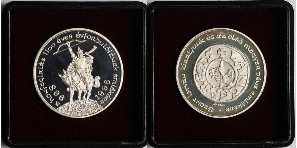 Millecentenáriumi érem 896-1996