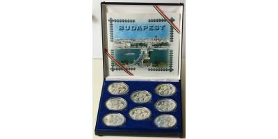 Budapest ezüst szett 1998 PP