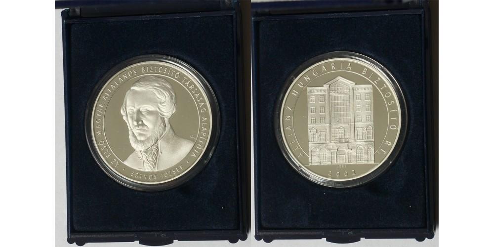Eötvös József ezüst érem 2002
