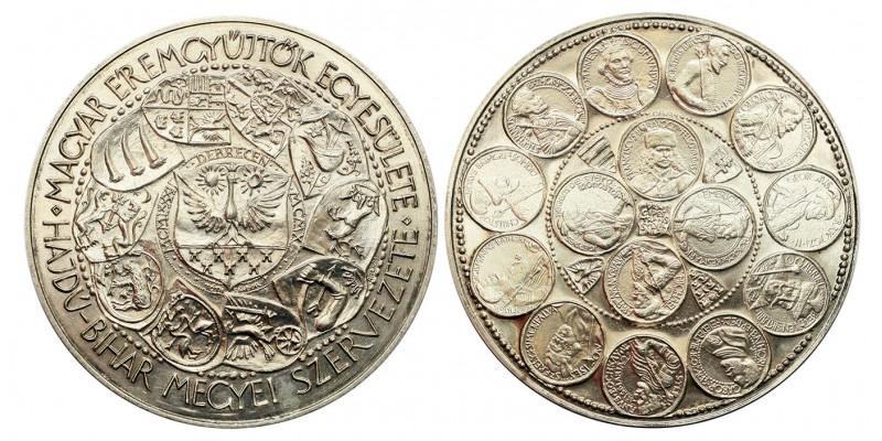 MÉE Debrecen Erdélyi fejedelmek ezüst záróérem