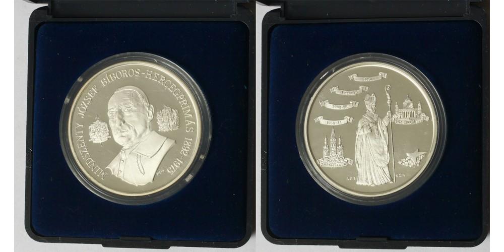 Mindszenthy József ezüst érem 1991