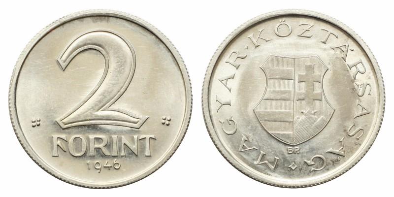 2 Forint 1946 jelöletlen ARTEX utánveret