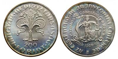 Károly Róbert  200 forint 1978 BU
