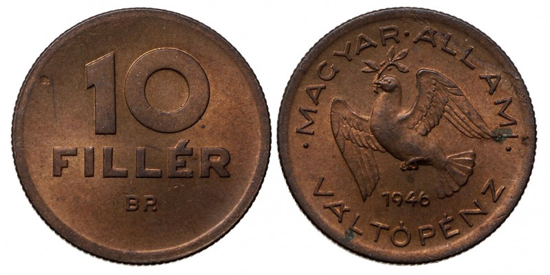 10 fillér 1946