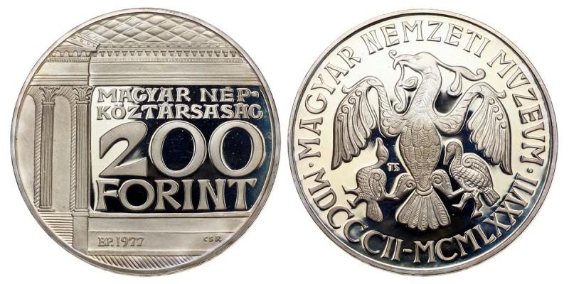 200 forint Nemzeti Múzeum 1977 PP