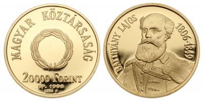 20000 Forint a szabadságharc 150.évfordulójára 1998 PP