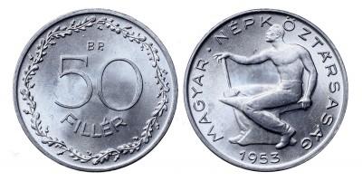 50 fillér 1953