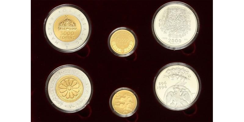 Államalapítás 1000. évfordulója arany 20000 forint 1999 BU 2000-20000 forint Honfoglalás