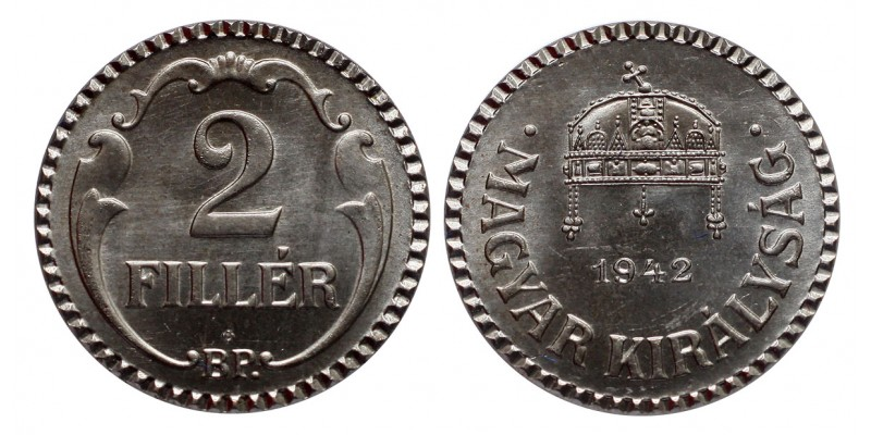 2 Fillér 1942 Artex