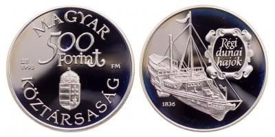 500 Forint Régi Dunai Hajók 1993