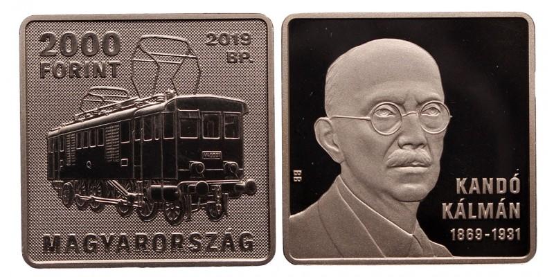 2000 forint Kandó Kálmán 2019
