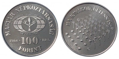 100 forint FAO 1984 PP