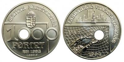 1000 Forint Labdarúgó VB USA 1993 BU
