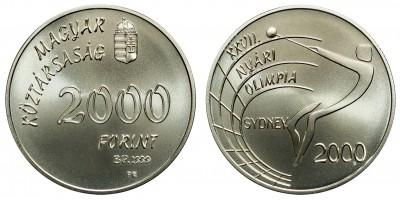 2000 Forint Olimpia 1999 BU