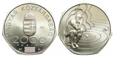 2000 forint az ezredforduló 1999 BU
